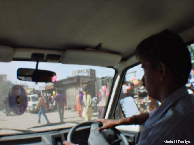 ヒマーチャル地方を共にした運転手