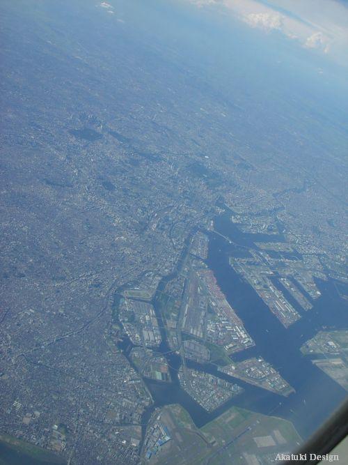 飛行機からの写真