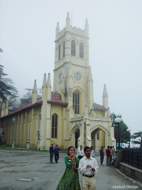 インド・シムラの教会