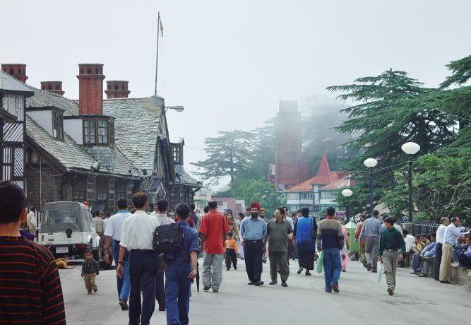 シムラの街並み