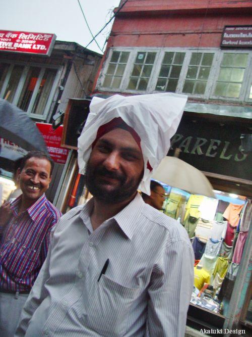 インド人の笑顔