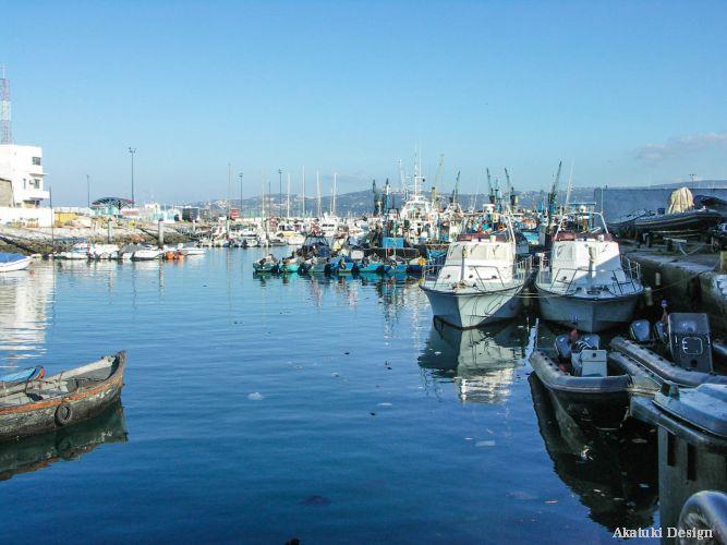 タンジェの港