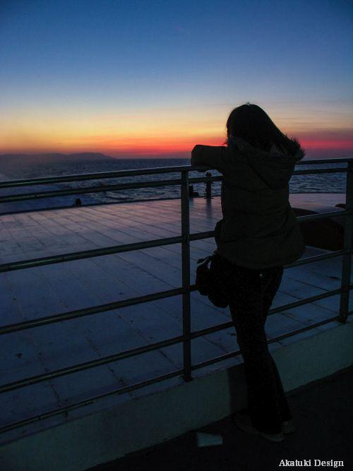 ジブラルタルの夕暮れ