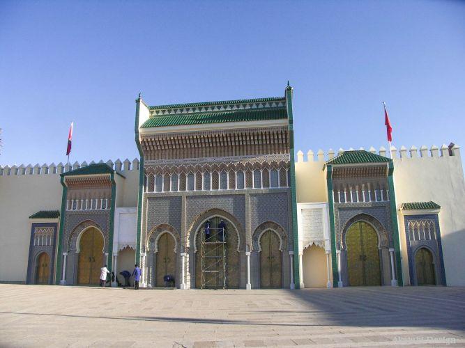 フェズ・エル・ジュディド地区の王宮