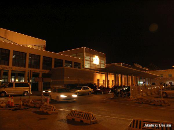 アルヘシラスのフェリーターミナル