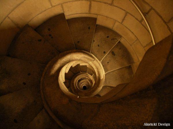 サグラダ・ファミリア教会螺旋階段