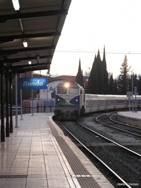 ロンダの駅
